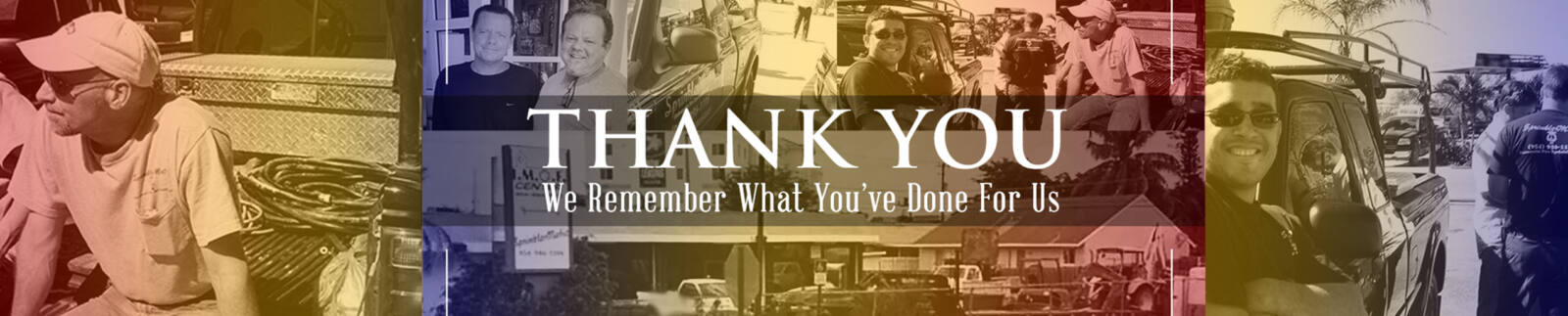 Thank You We Remember
