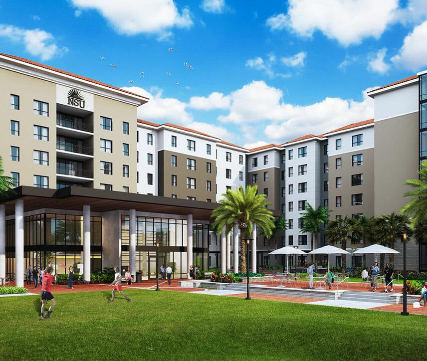 Nova Southeastern Student Housing