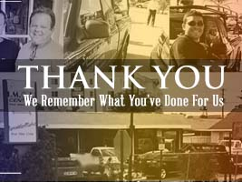 Thank You - We Remember